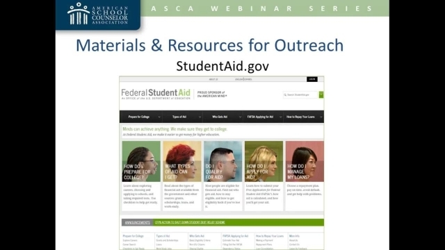 The 2017–18 FAFSA: What School Counselors Need to Know