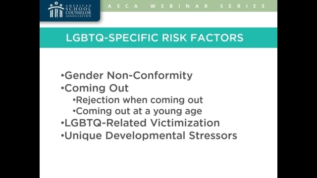 Suicide Prevention for LGBTQ Youth