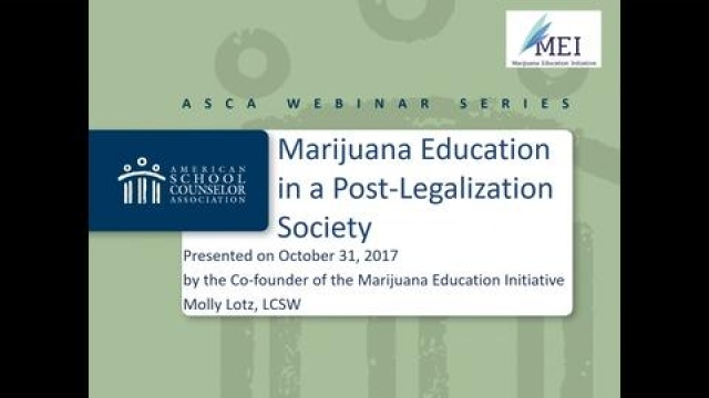 Marijuana & Students: Trends, Myths & Change